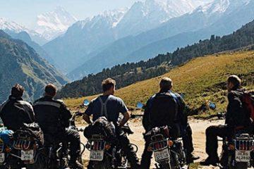 Se det bästa av Himalaya på motorcykel