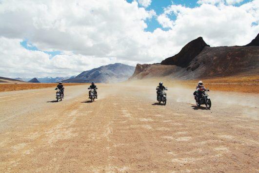 Motorcykelresa i Himalaya