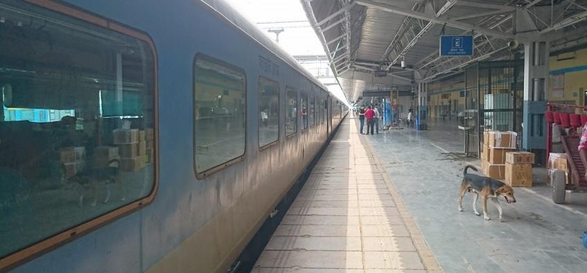 Tåg i Indien